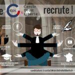 Rejoignez les équipes du Cercle Droit & Liberté !