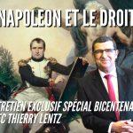 Napoléon et le droit, entretien exclusif avec Thierry Lentz